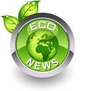 ''Eco-friendly'' glossy icon
